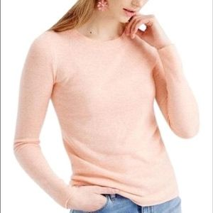 {J. Crew} Italian Cashmere Long Sleeve Shirt Sz S